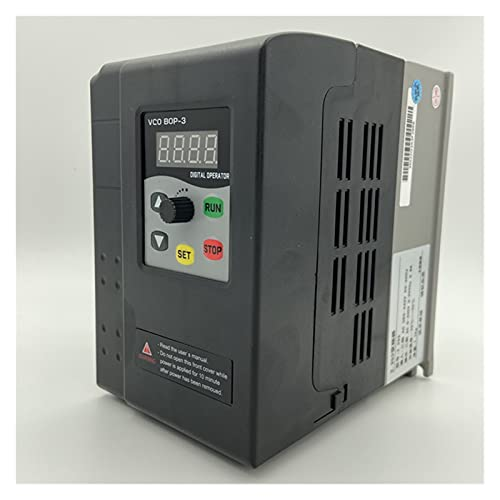 HAILAN-H Inverter VFD 0.4 0.7 1.5 2.2 KW Variable Frequency Drive VFD Frequency Converter Inverter Speed Controller for 3-Phase Motor Variable Frequency Drive