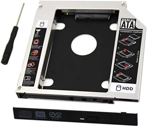 Padarsey Universal 9.5mm SATA to SATA 2nd SSD HDD Hard Drive Caddy Adapter...