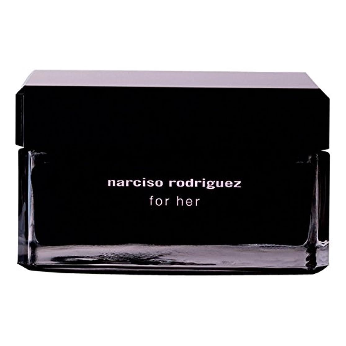 非効率的な誇りに思う葉っぱナルシソ?ロドリゲスボディクリーム150ミリリットル (Narciso Rodriguez) - Narciso Rodriguez Body Cream 150ml [並行輸入品]
