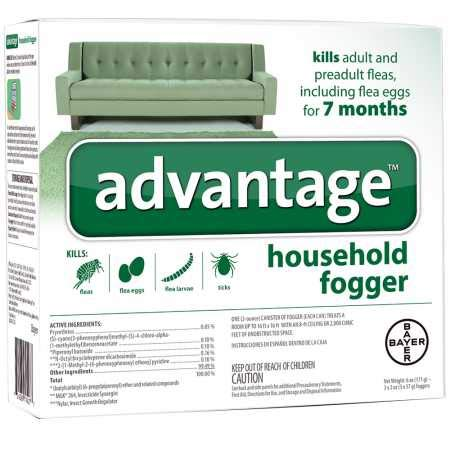 Bayer Advantage Household Fogger (3x2 oz)