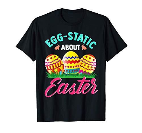 La parodia del juego de palabras de Pascua Eggstatic es muy Camiseta