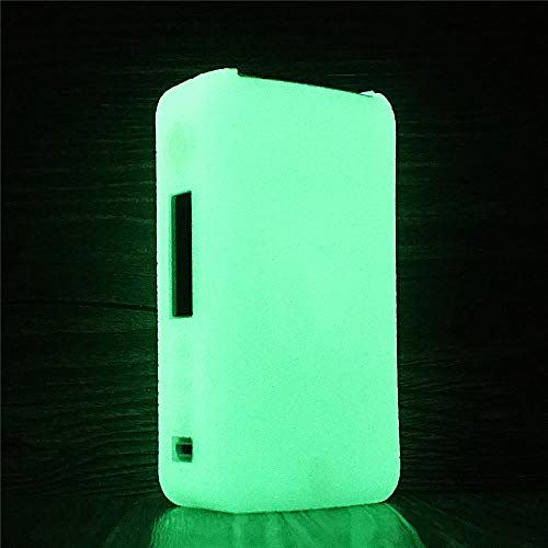 DSC-Mart Texture Cover for Vaporesso GEN 220W TC Box Mod Silicone Case Lostvape Protective Rubber Sleeve Skin Shield (Glow in The Dark)