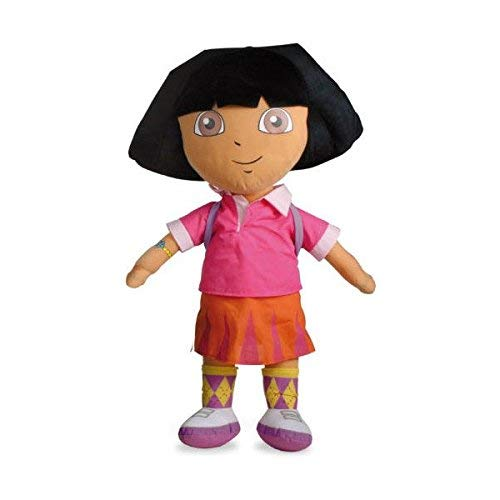 Nickelodeon Peluche Dora Exploradora Con Mochila 34 Centimetros Calidad soft