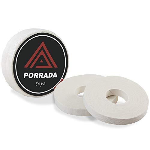 Porrada Fightwear BJJ Tape [2er Set] 1cm x 13,7m - ideales Fingertape und Sporttape für Bestleistungen und Schutz beim Kampfsport