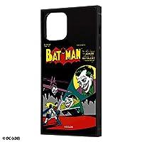 iPhone 12 iPhone 12 Pro 背面は割れにくいアクリル素材 ハイブリッド キャラクター スクエア ケース バットマン COMIC
