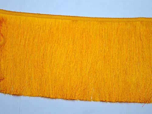 Cinta amarilla para vestidos de 9 yardas de seda y algodón de...