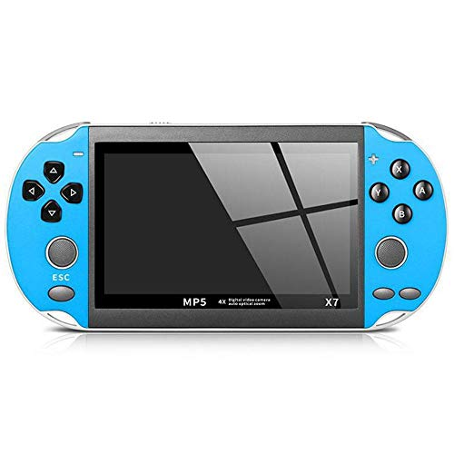 LAYOPO Handheld Game Console with Built in Games Portable Video Games for Kids Retro, Built-in 200 Classic Games 5.1 inch 64 bit hd Video Game Console for Music/E-books/MP3/4 Support TF Card Expansion