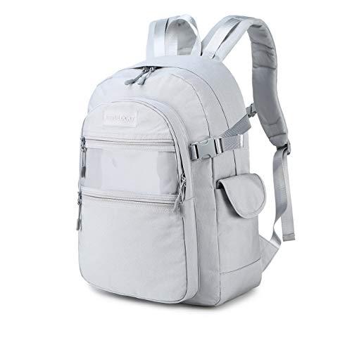 41GKx4Gf1QL - Joymoze Mochila de Viaje Impermeable y Grande Mochila para portátil de 15,6 Pulgadas para Hombre y Mujer Púrpura
