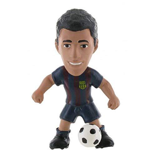 FCBARCELONA Figura Suarez 6cm de FC Barcelona (74142), Multicolor (COMANSI 1)