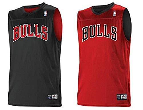 Alleson Adult Logo Reversible NBA Game Jersey - Chicago Bulls - Medium