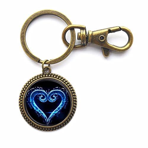 Porte-clés en forme de cœur ; porte-clés simple ;...