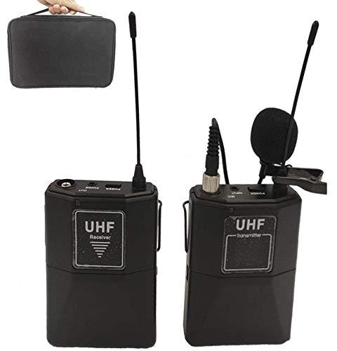 HAFOKO MC-6 16 Canales UHF Micrófono Inalámbrico...