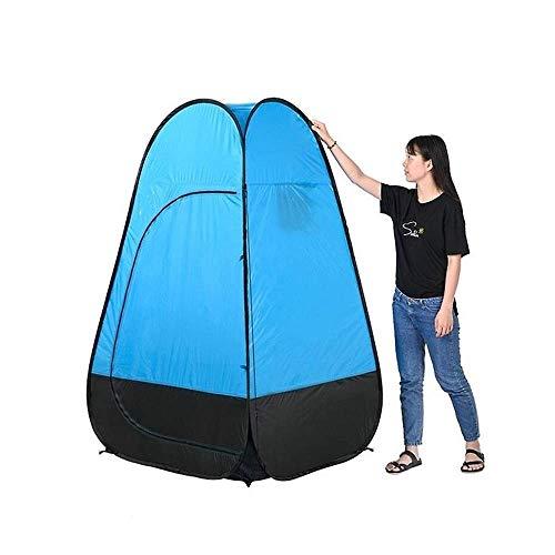 Tienda Pop-Up Tent Camping Aseo al aire libre Tienda Tienda portátil Ducha Placa plegable Tienda ultraligera Ligero Mochilero Tienda Pop-Up Tents (Color: verde oscuro) 1125 zhihao ( Color : Blue )