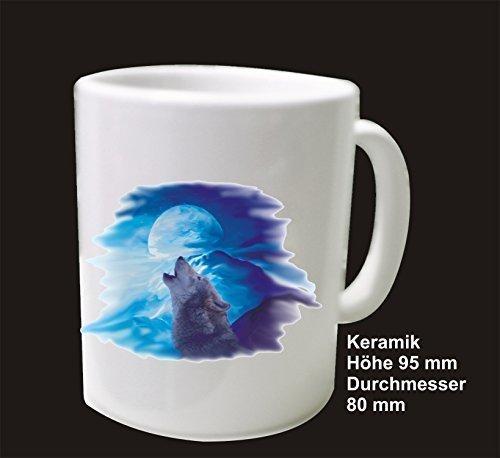 DSF mok koffie wolf maan