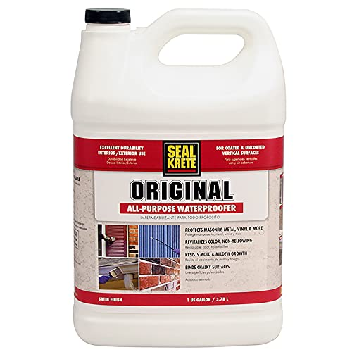 Seal-Krete 100001 Original Waterproofing Primer/Sealer, Gallon
