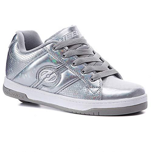 Heelys Split Mädchen Skate-Schuhe, Silver/Hologram, EU 39