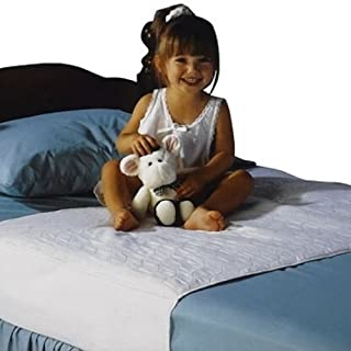 Saddle Style Reusable Waterproof Bed Pad - Will Absorb 10 Cups of Liquid - Made in America (34