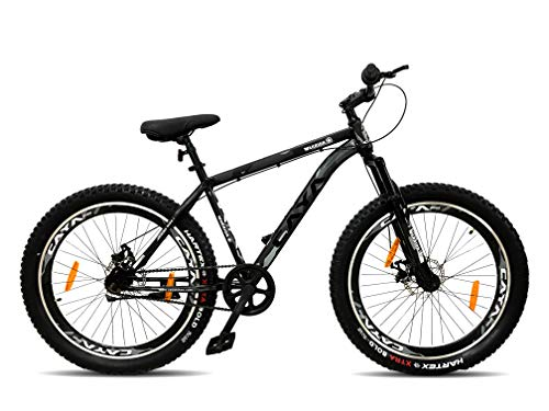 CAYA Warrior Adults 26 Steel Frame Bicycle with Front Shocker and Dual...