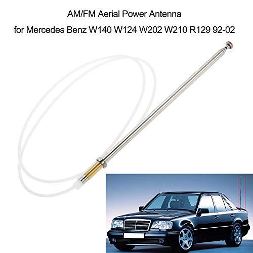 SHENYF AM / FM-Antennenleistung Antenne for Mercedes Benz W140 W124 W202 W210 R129 92-02