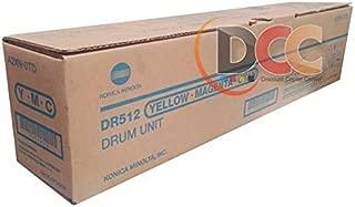 Konica Minolta DR-512 75K Page Yield Color Drum Unit for Bizhub C224 C284 C364 C454 C554 A2XN0TD