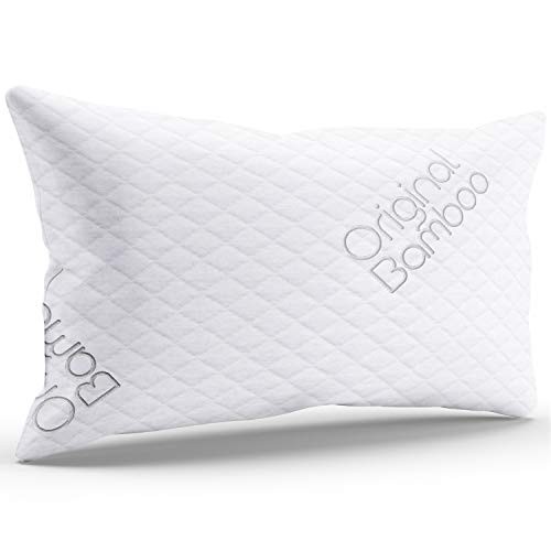 Luxury PREMIUM Shredded Memory Foam Pillow { Standard / Queen } Cooling Sleeping Hotel Quality...