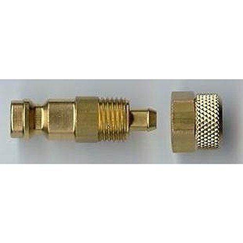 Raccord de tuyau 4x6mm - male de raccord rapide Createx