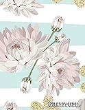 Gratitude: Planificador sin fecha - 18 meses - Grande agenda mensuales y semanales - Organizador...