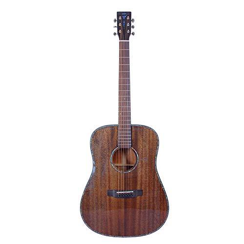 Handgemaakte enkele gitaar met een afmeting van 40,6 cm (41 inch).