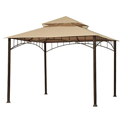 Garden Winds Replacement Canopy for Target Madaga Gazebo, Beige