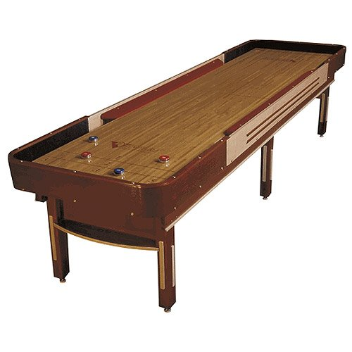Best Price! Venture 12 Foot Grand Deluxe Cushion Shuffleboard Table