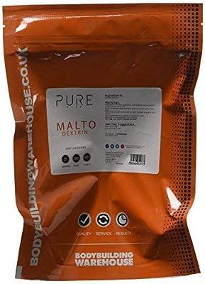 Bodybuilding Warehouse Pure Maltodextrin Carbohydrate Powder/Unflavoured (500g)