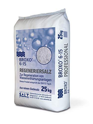 Paradies Pool GmbH Broxo 6-15 Granulat 25kg Regeneriersalz/Poolsalz/Schwimmbadsalz/Wasserenthärteranlagen