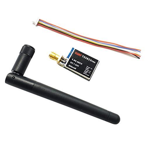 TOYANDONA 5. 8Ghz Fpv Transmisor Micro Cámara Soporte Raceband Conmutable para Quadcopter Drone Pequeña Whoop Blade Inductrix