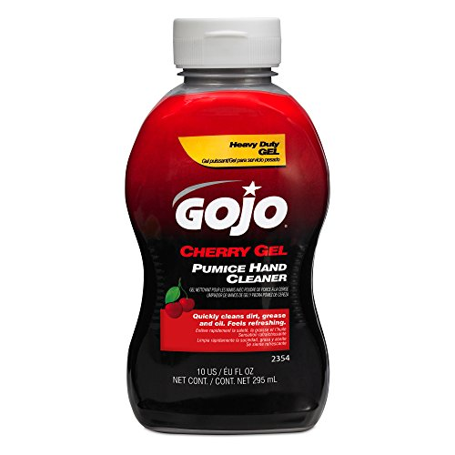 Gojo 2354 Cherry Gel Pumice Hand Cleaner - 10 oz.