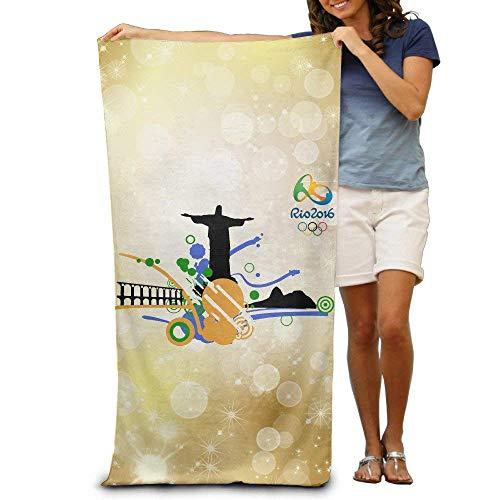 xcvgcxcvasda Los Juegos Olímpicos de Río de Janeiro 2016, 31 x 51 pulgadas, diseño único