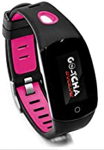 Go-Tcha Evolve LED-Touch Wristband Watch for Pokemon Go with Auto Catch and Auto Spin - Black/Pink