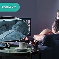 """Chicco Baby Monitor Video Deluxe, Videocamera per Neonati e Bambini con Schermo a Colori LCD 4.3"""", Portata 220 m, Visione Notturna, Termometro, Melodie e Suoni Bianchi, Batteria a Lunga Durata #5"""