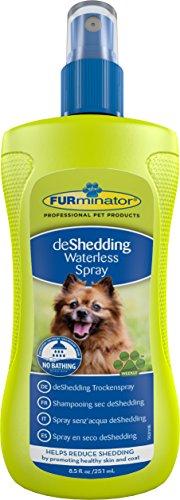 FURminator Trockenspray für Hunde, neutralisiert sanft Gerüche bis zum nächsten Bad