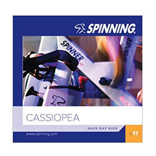 SPINNING 17 Cassiopeia - Bicicletas estáticas Fitness, Color Multicolor, Talla n/a