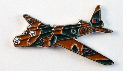 Mainly Metal Pin en métal émaillé, Insigne WW2 Lancaster RAF