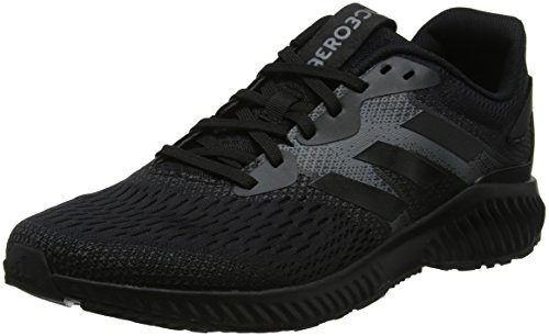 Adidas Aerobounce W, Zapatillas de Trail Running Mujer, Negro (Negbas/Negbas/Gricua 000), 44 2/3 EU