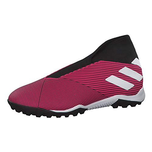 Adidas Nemeziz 19.3 Ll TF, Unisex Adulto, Multicolor (Shock Pink/FTWR White/Core Black 000), 41 1/3 EU