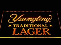 Yuengling Traditional Lager LED看板 ネオンサイン ライト 電飾 広告用標識 W60cm x H40cm イエロー