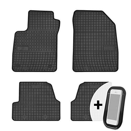 moto-MOLTICO Gummimatten Auto Fußmatten Gummi Automatten Passgenau 4-teilig Set - passend für Chevrolet Trax Opel Mokka X 2013-2019