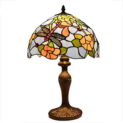 AWCVB Lámpara Decorativa Lámpara De Mesa Estilo Tiffany Light Light Office Lámpara De Oficina Hermosa Construcción De La Construcción Collegues