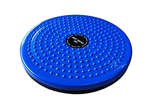 chi-enterprise robuster Twister (Drehteller) für Chi-Maschinen I stabiler Drehteller für Chi-Massage-Geräte wie Chi Vitalizer, Energizer, Sun Ancon, Chi Sun | Drehscheibe blau Durchmesser 24,8cm
