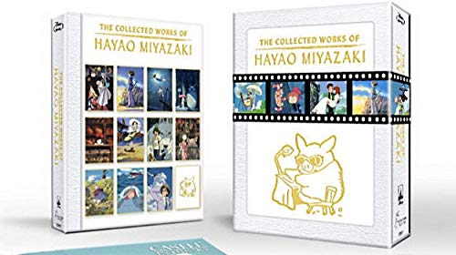 Haya0 Miyazaki The Collection Works Cartoon-Set (Blu-Ray), 11 Filme