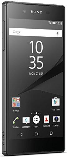 Sony Xperia Z5 Dual SIM Smartphone (13,2 cm (5,2 Zoll) Display, 32GB Speicher, Android 6.0) Schwarz