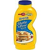 Betty Crocker Bisquick Baking Mix, Shake 'n Pour Pancake Mix, Buttermilk, 10.6 Oz Bottle (Pack of 16)