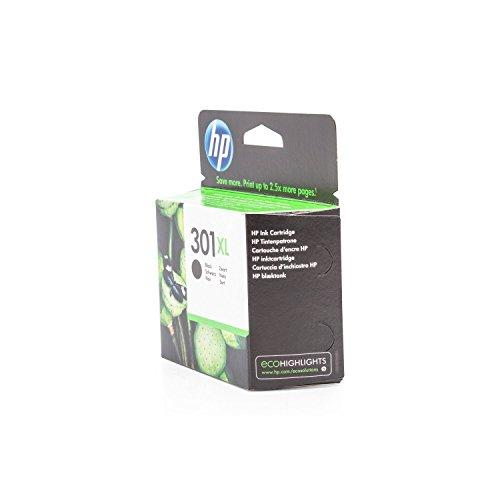 HP 301XL - Cartucho de tinta para impresoras (Negro, 480 páginas, Negro, 20-80%, -40-60 °C, 15-32 °C)